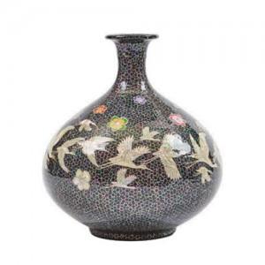 珍珠花瓶的母亲(松鹤)