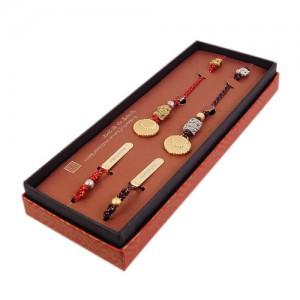 传统的结书签(黄铜)