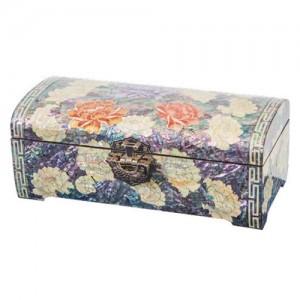 首饰盒牡丹