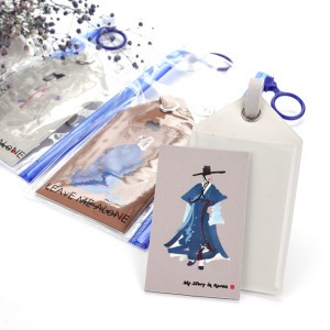 Hanbok Carrier Tag&Magnetic