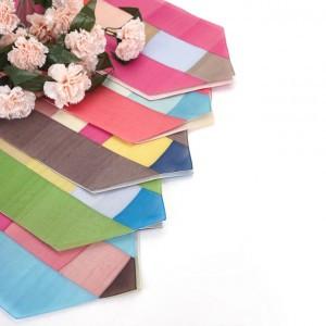 生绡碎布餐桌巾 - 90厘米