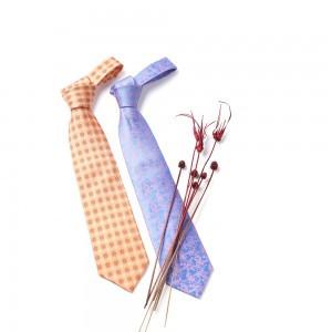 传统纹样丝绸领带