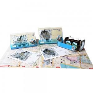 虚拟旅游立体明信片