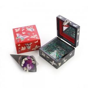 法院彩色珠宝盒
