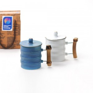 Bamboo Story Lid Mug